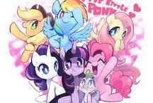 Cartoons / My little Pony + some random