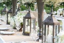 Shabby Chic Weddings / The perfect combination of glamorous, vintage, and rustic!