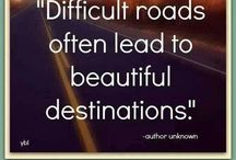 The Road Less Travelled / Inspiration for dealing with life's challenges