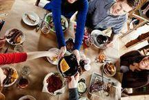 Kööki - Kauppakeskus Valkean uniikki ravintolamaailma / Kurkistus Köökin tunnelmaan, sisustukseen ja sävyihin fiilis- ja havainnekuvin.