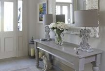 Entry/Foyer Ideas / Inspiring entryway to your home. Decorating ideas.