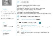 Mon book / Communication digitale - Mon parcours en images (réalisations, missions et références)