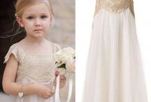 Wedding - Flower Girl Adorable / Sweet dresses for little Flower Girls - how adorable!