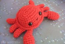 Crochet! <3       and knitting
