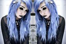 Creepy Cute / I really love this style!
