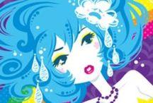 Miss Kika / Too much cute artwork.