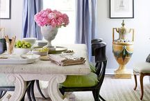 Interior- Luxe Dining Room Space