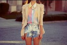Pretty Pastels / Light airy pastels for spring