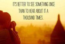 Quotes / De mooiste quotes over het maken van reizen.