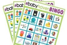 #babyhavenBINGO / babyhaven.com BINGO giveaway. follow us every day as we post a new item to check off your bingo card.  Get five items in a row, and you win all five items!