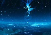 Dianime / Fantasy, anime, love, digital drawing
