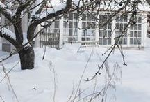 Winter...Garden and Greenhouse.
