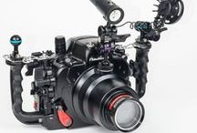 DSLR Underwater systems / DSLR Underwater Housing and lighting systems from Optical Ocean Sales #underwaterphotography #underwatervideo #scuba #diving