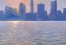 Paintings Of New York / Pretty much all my paintings of New York (and a few other cities) from the last ten years. For more information: www.paintingsbymarkharrison.com  Contact me at: msj.harrison@tiscali.co.uk