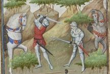 Medieval fighting manuscripts