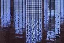 glitch // / glitch. blur. optical illusion.