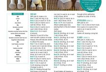 AMIGURUMI:  cute crochet toys