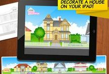 Little House Decorator / If your child likes to play with dolls' houses LITTLE HOUSE DECORATOR is a perfect application for it. It's avaiable for iPad.