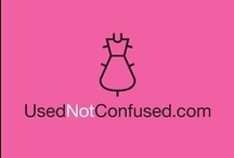 UsednotConfused / Online Store for Preloved Fashion (Designers and Vintage)