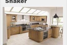Shaker Kitchen Designs / A selection of Shaker kitchen designs from Units Online - https://www.unitsonline.co.uk/shaker-kitchens