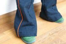 Naai inspiratie broeken en jumpsuits / by Ivy Lewis