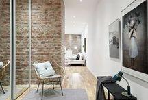 Korytarz - wejście do domu / Przykładowe wizualizacje korytarza