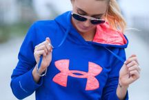Under Armour / Hunting to athletic clothes, under armour has it all!