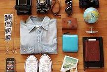 ESSENTIAL TRAVEL GEAR / Essentials for your Wanderlust