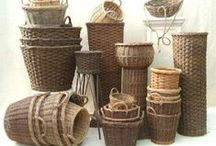 Baskets and hats