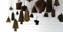 Garden bells, sundials and crowns