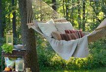 Just relax! Hammocs in the Garden