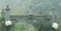 Pergola-style gates