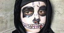 Halloween Schmink-Ideen / Buh!!! Wir haben coole Schmink-Ideen für Halloween gesammelt. Mit diesen Vorschlägen schminkt Ihr Euch und Eure Kids erschreckend-gruselig für die nächste Party oder den Walk um die Häuser.