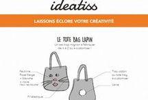 ░░▌ Tutos et DIY ▐░░ / Chaque mois, nos idées couture / tricot / loisirs créatifs / déco !