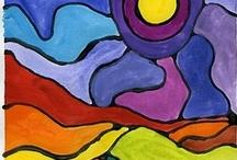 Art Lesson Ideas / by Bridgett King