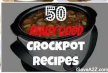 Slow Cooker-Crockpot & Casserole Ideas! / Tons of Crockpot, and Casserole Recipes! / by Toni Dill