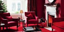 Berry Reds / Fitting for the Festive time of year, why not incorporate colours such as 'Devotion' and 'Crimson' into your design theme to create a classic, royal style.