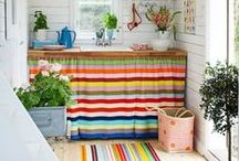 On Trend: Stripes / We have put together some inspiration to help fit stripes into your home. From bright vivid colours to pastel tones, striped patterns can look great in any room.