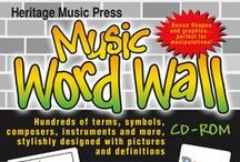 Music Classroom Decorations / Discover new ideas for displays, signs, and other decorations for your music classroom!