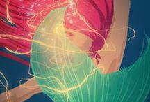 Disney - Dreamworks - Ghibli.