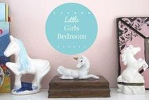 GIRLY / Decorating ideas and inspiration for little girl's bedrooms