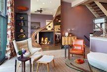 Interiors by Bruce Palmer Design Studio - Townhouse