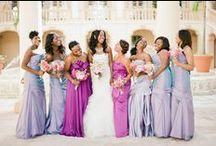 Bridesmaids / Whether long or short, bold or neutral, here are some great looks and ideas for your bridal party to dance the night away.