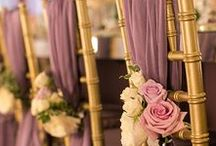 Wedding Decor / From ceiling to floor its all about the little touches!