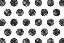 Stripes & Dots   Mevrouw Blond / inspiration   interior   accessoires   dots   stripes   black   white