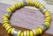 Beads, woods - diy