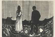 Munch / Woodcut Prints