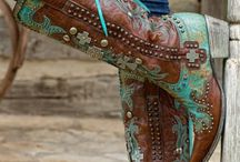 Western looks / Women's fashions western design and looks