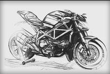 Motorcycles Sketches