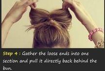hair inspiration <3 / Hair styles